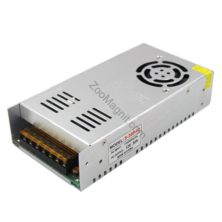 360W AC 110-220V to DC 12V 30A Switch. Power Supply Adapter.