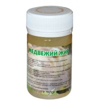 60 g. 100% Natural Bear fat, bear tallow, oil. Hight quality.